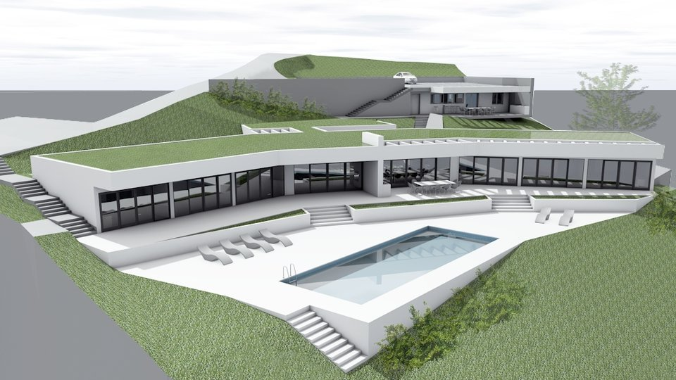 House, 487 m2, For Sale, Seget Vranjica