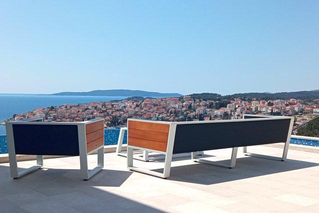 Luxury sea view villa Trogir