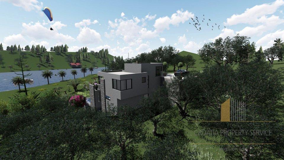 Savršeno građevinsko zemljište u Bobovišću na otoku Braču, ekskluzivno okruženje!