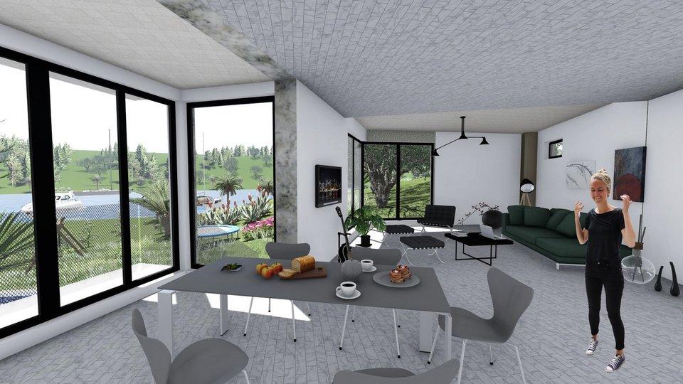 Perfect construction land plot in Bobovisce on Brac island, exclusive surrounding!