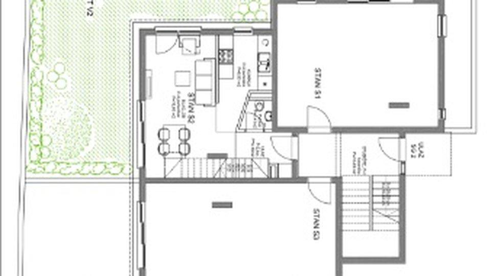 Stanovanje, 64 m2, Prodaja, Kaštel Štafilić