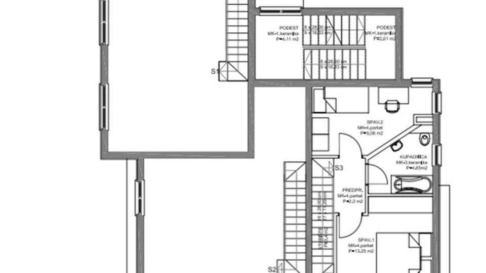 Apartment, 64 m2, For Sale, Kaštel Štafilić