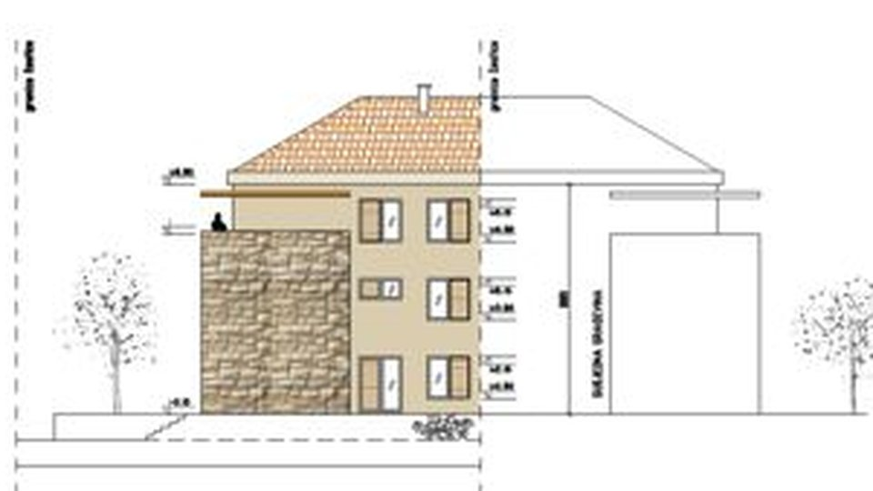 PROPERTY BUILDING LAND WITH PROJECT FOR BUILDING OF 8 UNITS ON THE ISLAND OF BRAČ!