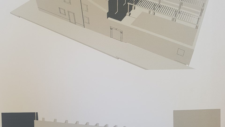 OLD-STONE HOUSE IN THE PHASE OF RECONSTRUCTION IN THE MINI HOTEL WITH RESTAURANT, FIRST ROW TO THE SEA, DUBROVNIK AREA!