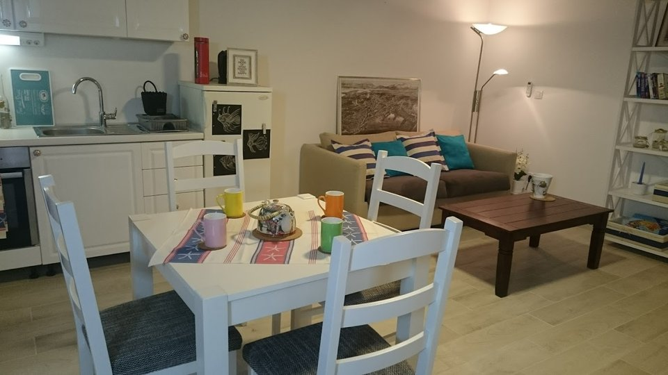 ONE-BEDROOM APARTMENT IN RENOVATED STONE HOUSE IS LOCATED IN THE CITY CENTER!