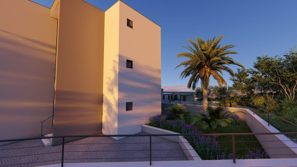 MODERN NEW BUILDING ON THE HILL SITUATED ON THE ISLAND OF CIOVO!