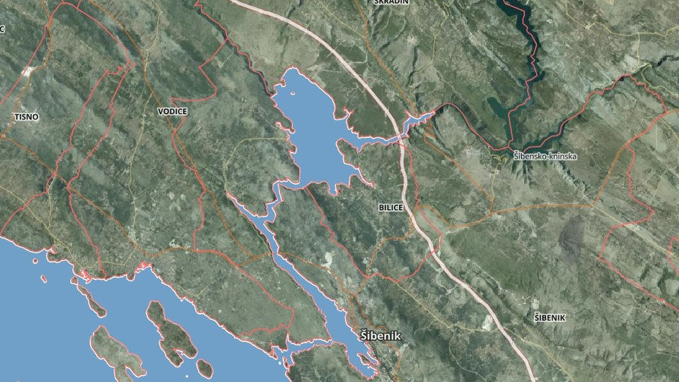 Land, 1000 m2, For Sale, Šibenik - Bilice