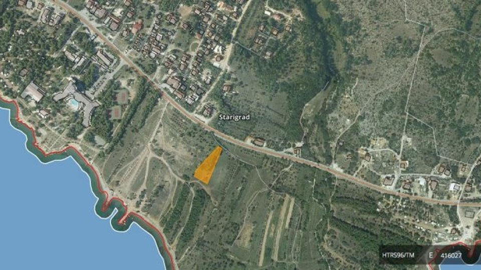 Land, 2754 m2, For Sale, Starigrad