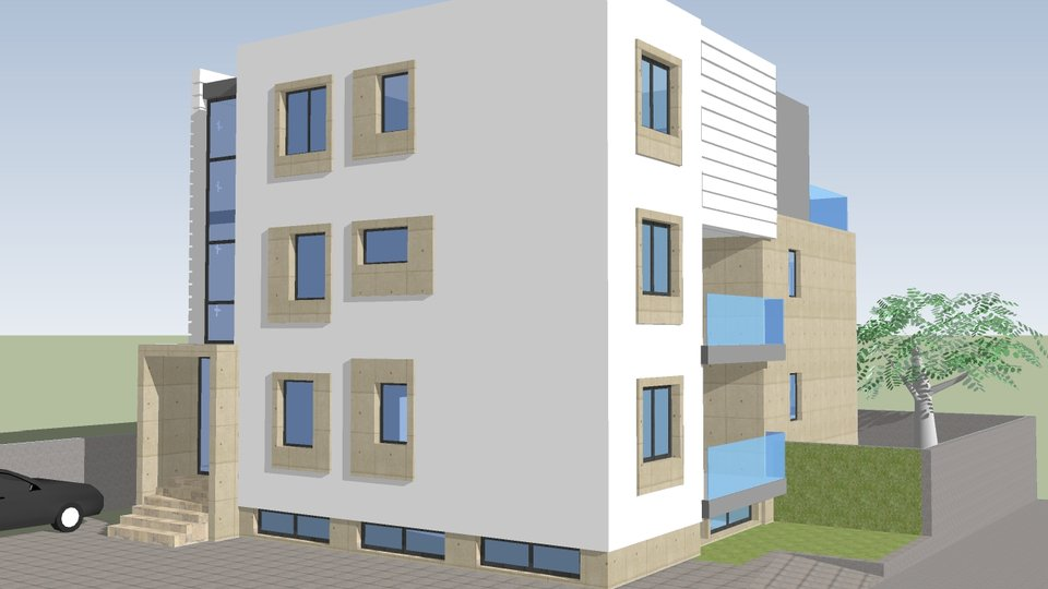 APARTMENT 55.88 SQM, LOCATED IN NEW BUILDING IN A SMALL PLACE KOŽINO, ZADAR AREA!