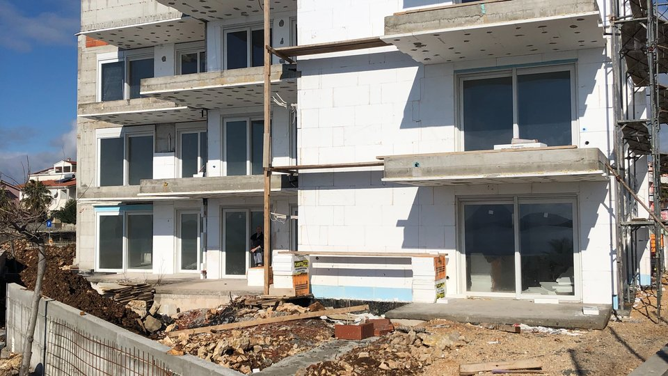 NEW RESIDENTIAL BUILDING WITH APARTMENTS ON THE ISLAND PAG!