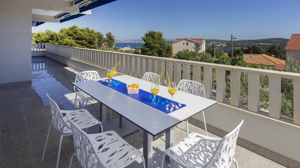 APARTMENT VILLA NEAR OF TROGIR CITY - HISTORICAL DALMATIAN CITY UNESCO PROTECTED!