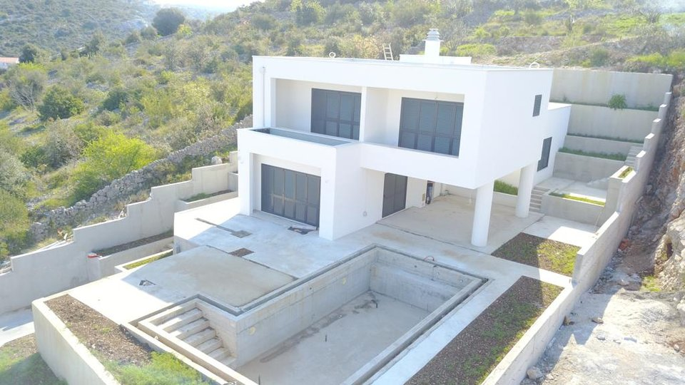 Newly built modern villa with pool in Razanj!