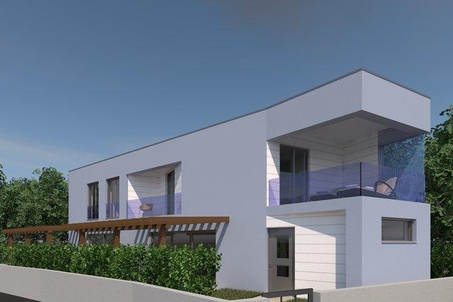 Maisonette-Wohnung in einer schönen lage, nur 40 meter von Meer entfernt in Vodice!