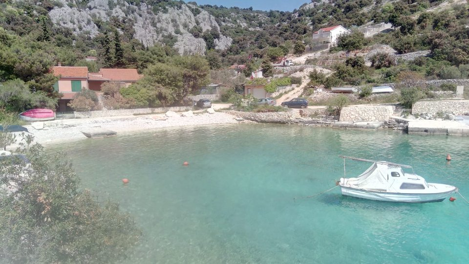EXCELLENT OPPORTUNITY! FOR SALE IS A LAND OF 2100 SQM, WITH A HOUSE AND ALMOST OWN BEACH!