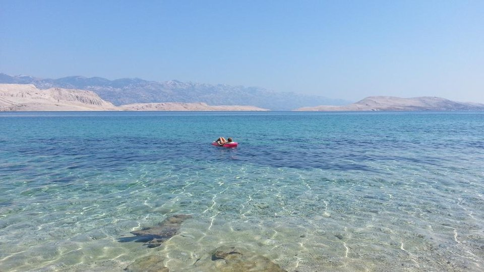 Exceptional seafront villa on Pag with fantastic sea views and private beach!