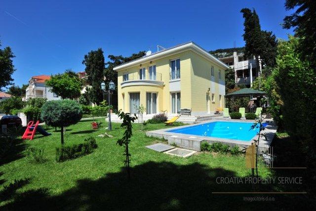 Vila s bazenom Split, Meje