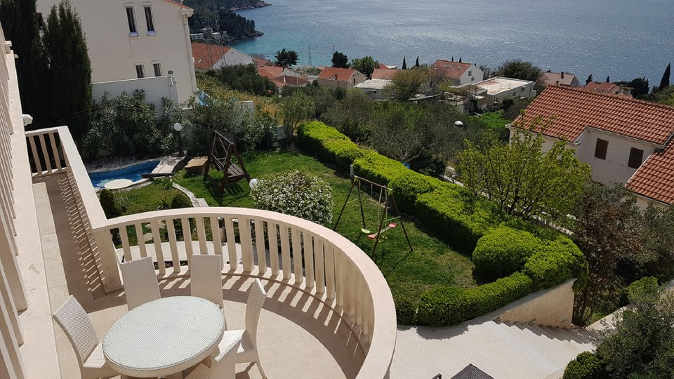 LUXURIOUS VILLA WITH THE UNIQUE POOL AND THE BEAUTIFUL VIEW IS LOCATED ON HILL MLINI, DUBROVNIK